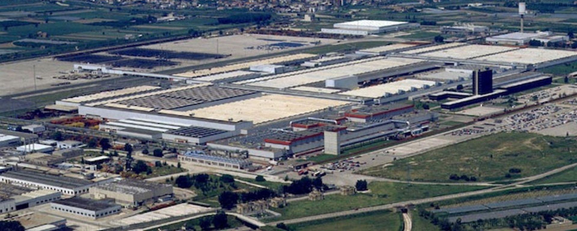 Lo stabilimento FCA di Pomigliano d'Arco