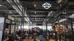 Lo stand Harley-Davidson al Motor Bike Expo di Verona