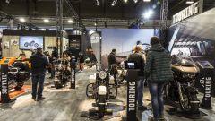 Lo stand Harley-Davidson