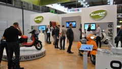 Lo stand Kumpan Electric a Eicma 2018 (fonte: Motociclismo)