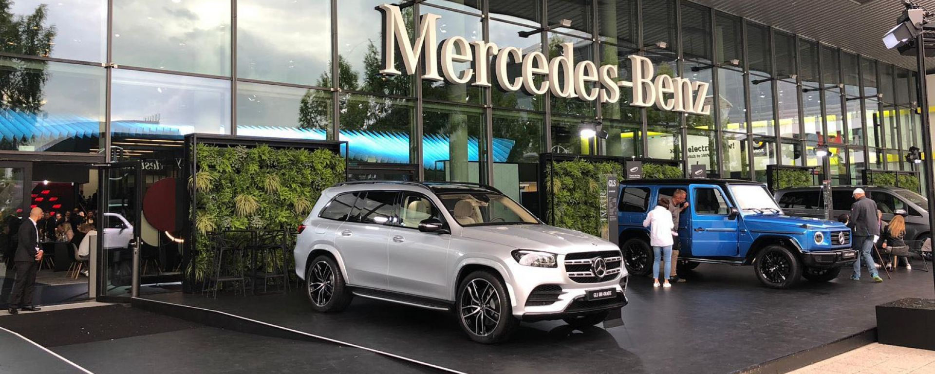 Lo stand Mercedes