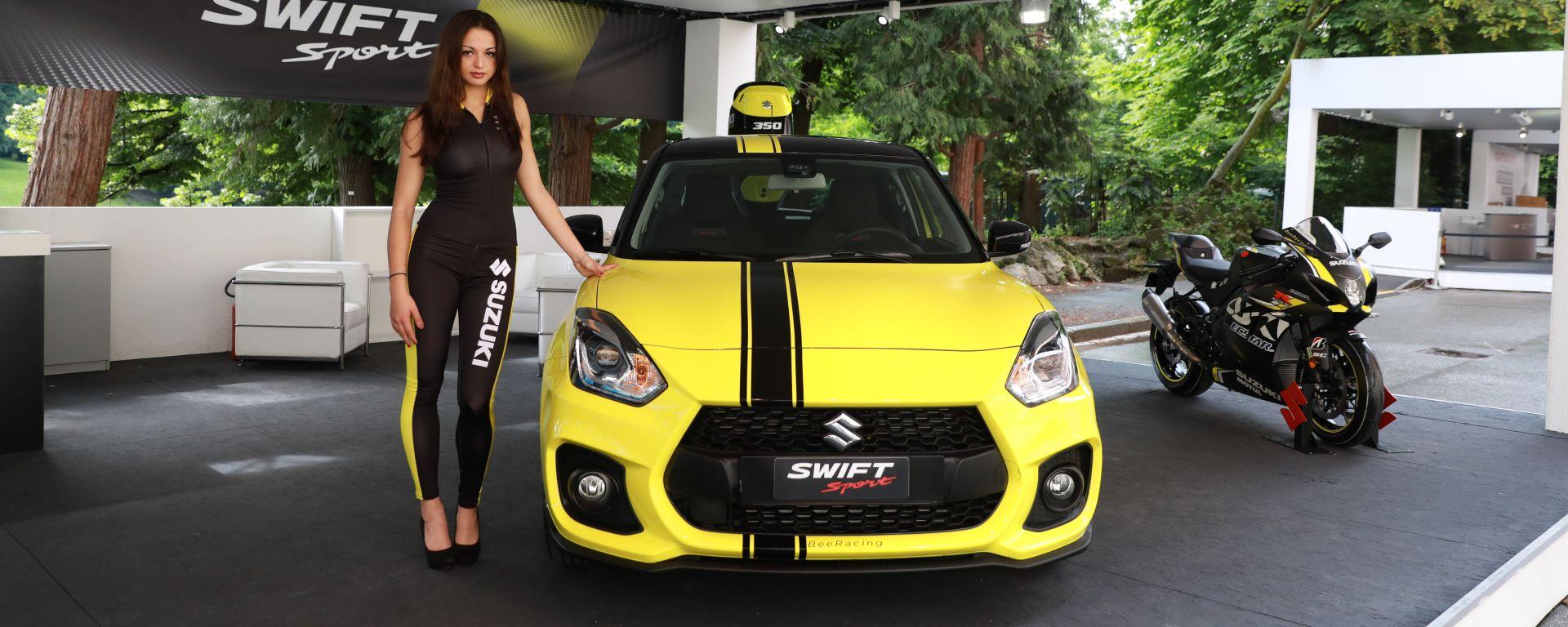 Lo stand Suzuki al Salone dell'Auto di Torino 2018