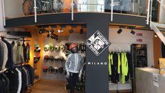 Lo store Tucano Urbano di Milano