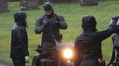 Lo stuntman sul set di The Batman