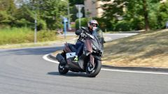 Lo Yamaha X-Max 300 ricorda il fratellone T-Max