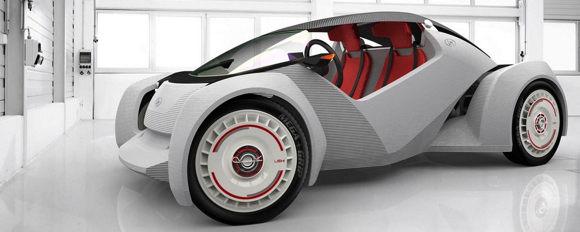 Local Motors Strati: l'auto stampata in 3D