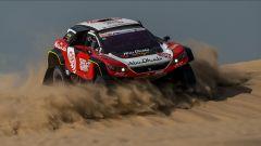 Loeb alla Dakar 2019 con una Peugeot 3008 DKR...ristretta!