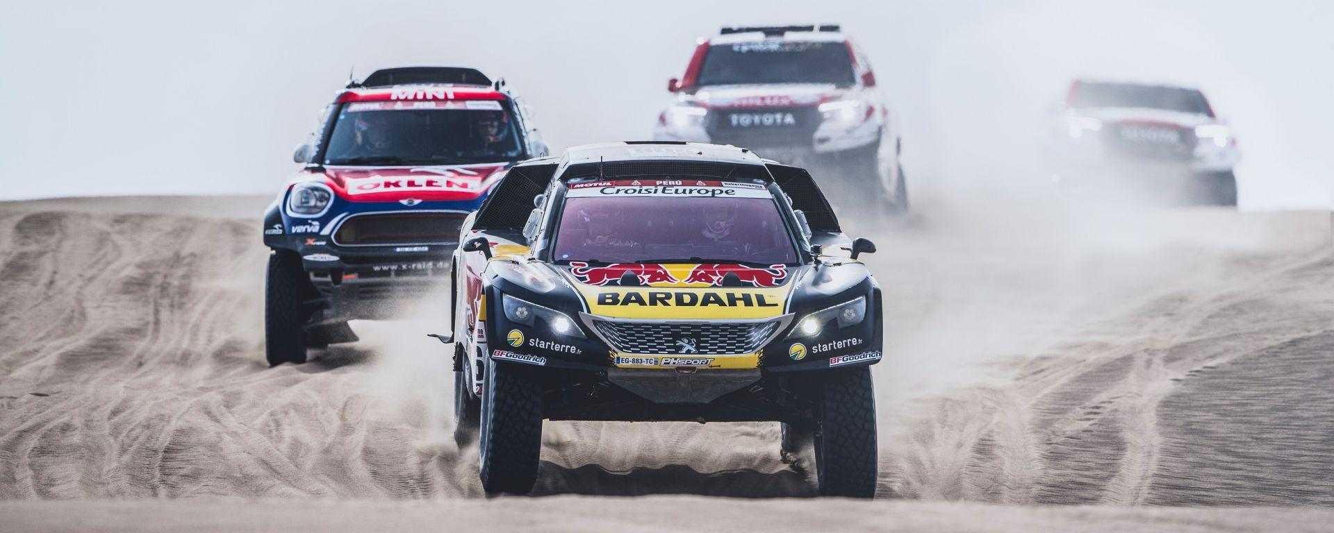 Loeb e Peugeot vincono l'Ottava Tappa della Dakar 2019