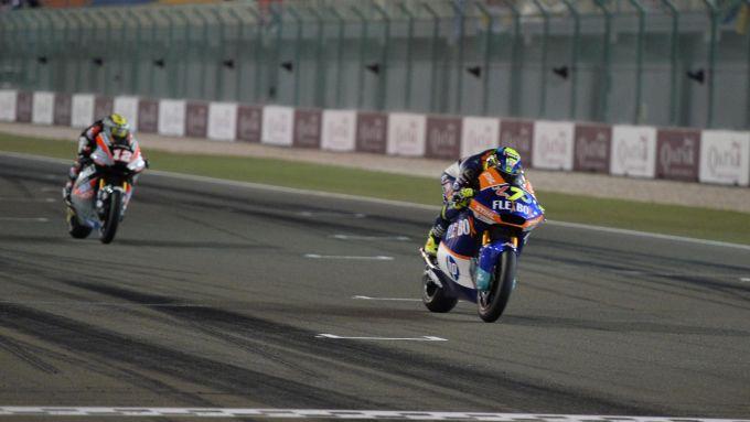 Lorenzo Baldassarri (Kalex) vince il Gran Premio del Qatar 2019