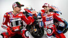 Lorenzo e Dovizioso - Ducati Team Racing