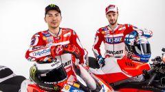 Lorenzo e Dovizioso, le due punte della Ducati