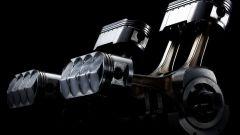 L'originale e assurdo motore della NR 750 originale