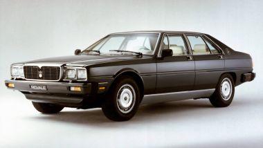 L'originale Maserati Quattroporte Royale del 1986