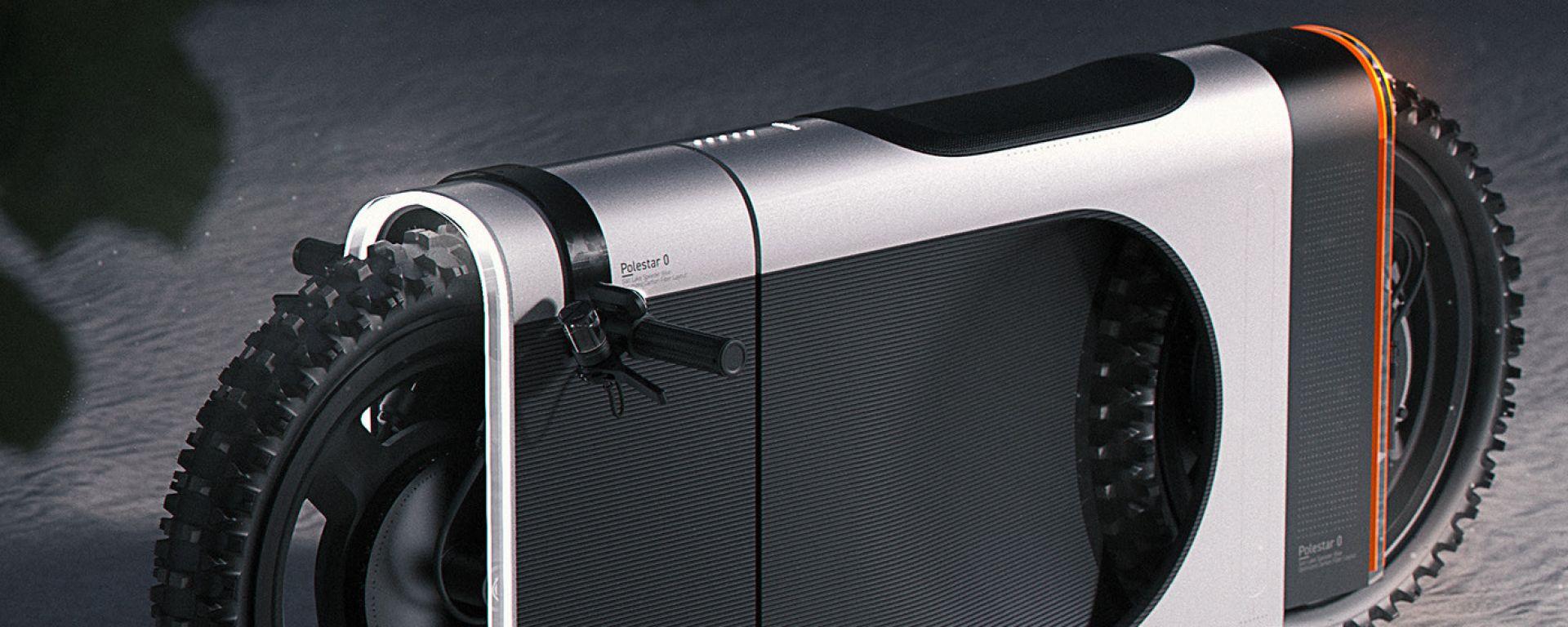 L'originalissimo design della Polestar SLR