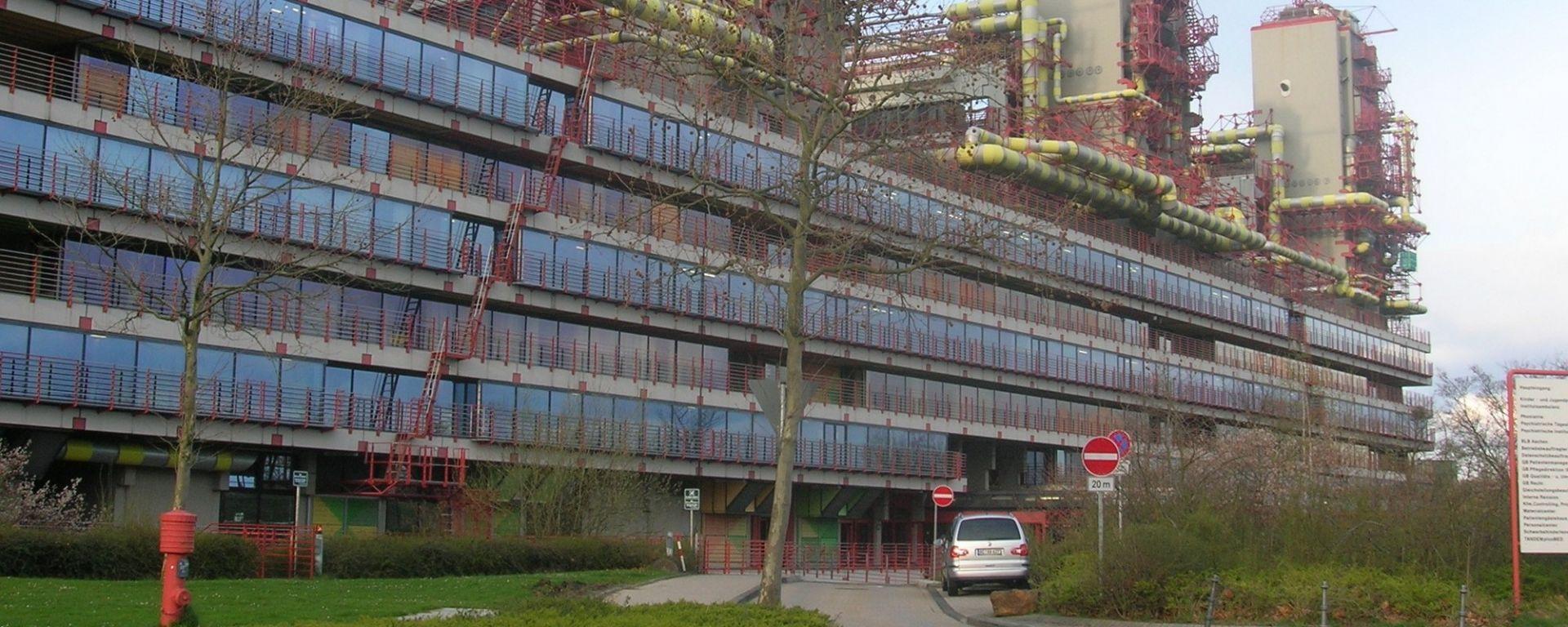 L'ospedale universitario di Aquisgrana, sede degli esperimenti incriminati