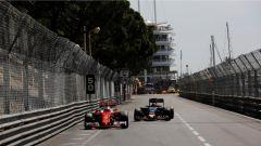 Lotta Ferrari e Red Bull Monaco