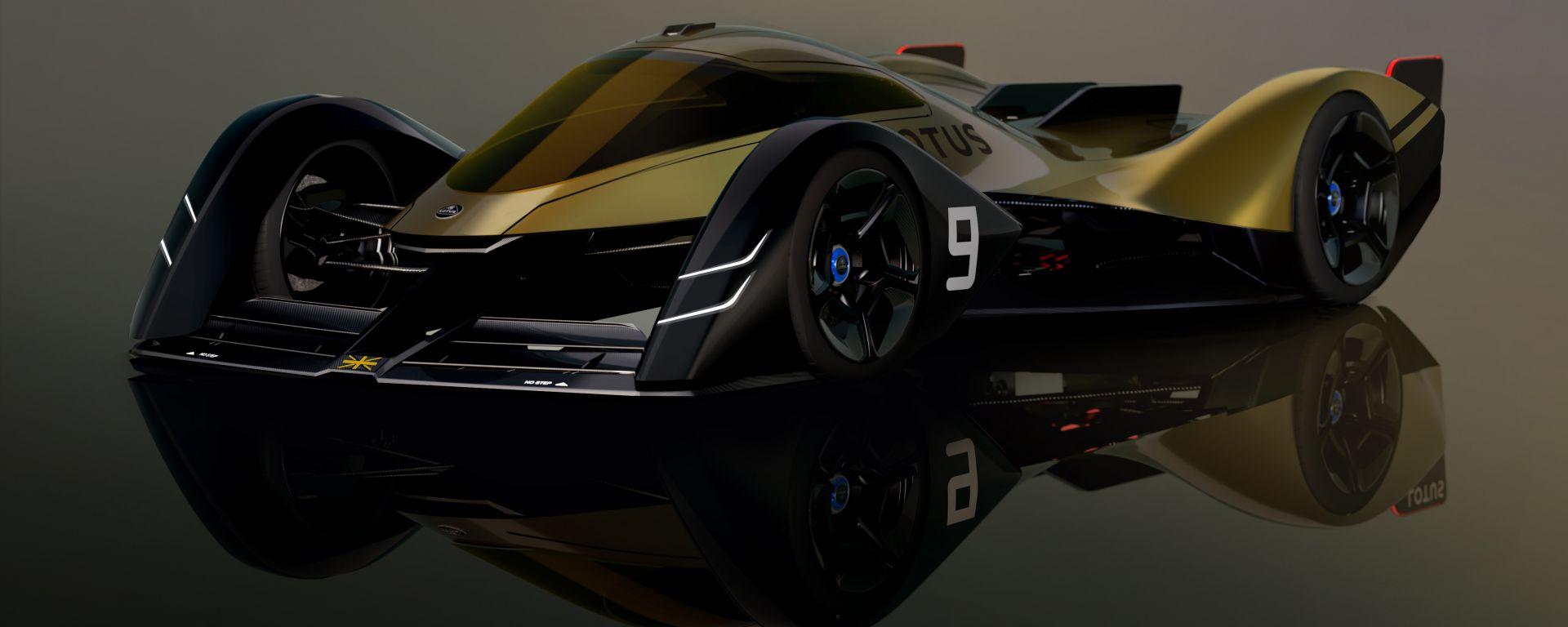 Lotus E-R9, l'elettrica endurance per la prossima generazione
