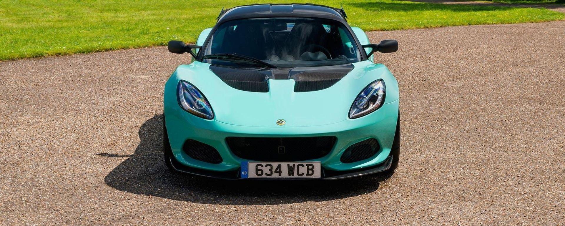 Nuova lotus Elise Cup 250: ossessionata dal peso