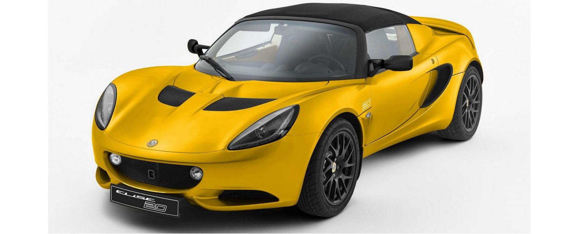 Lotus Elise: nel 2020 arriverà la nuova generazione della sportiva inglese