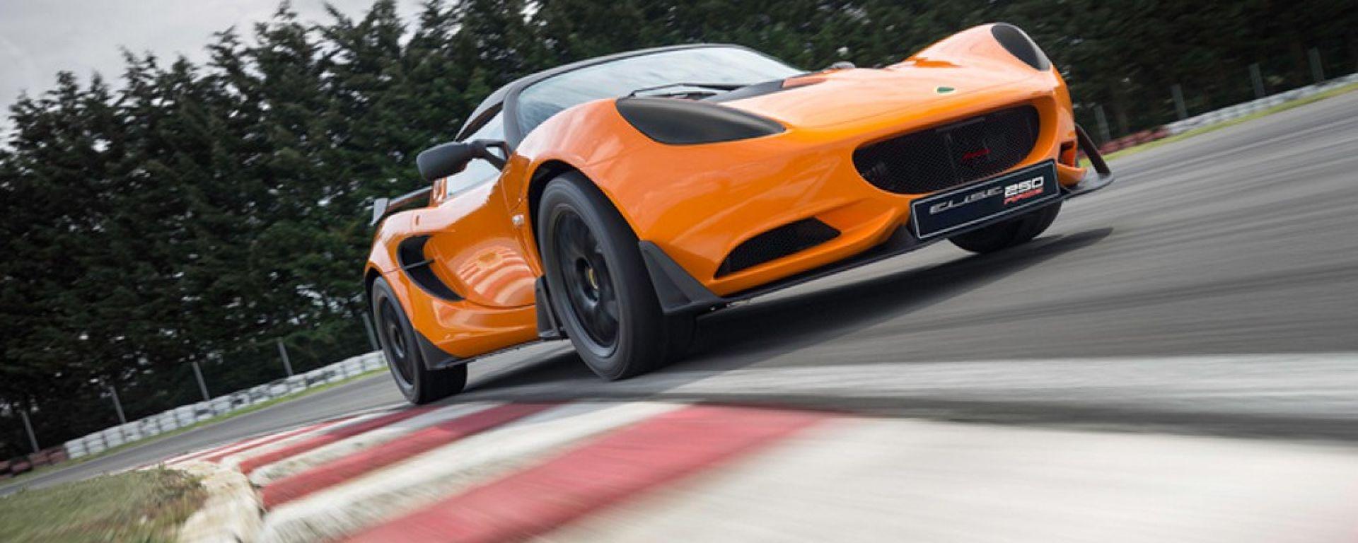Lotus Elise Race 250: sportiva pronto gara