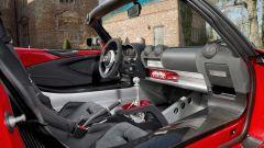 Lotus Elise Sprint: dettagli in carbonio sparsi in abitacolo