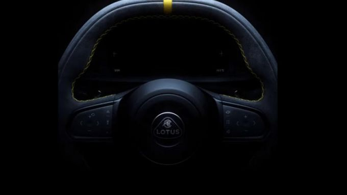 Lotus Emira: il volante
