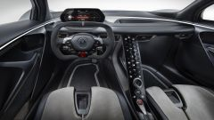 Lotus Evija: dettaglio lato guidatore