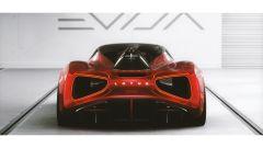 Lotus Evija: il posteriore