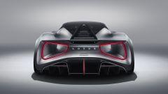 Lotus Evija: vista posteriore