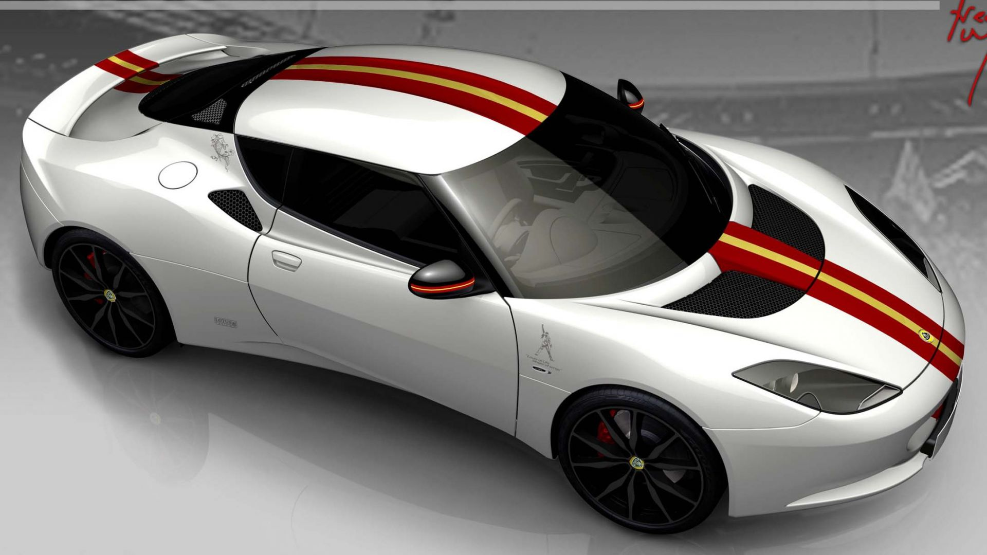 Immagine 0: Lotus Evora S Freddie Mercury Edition