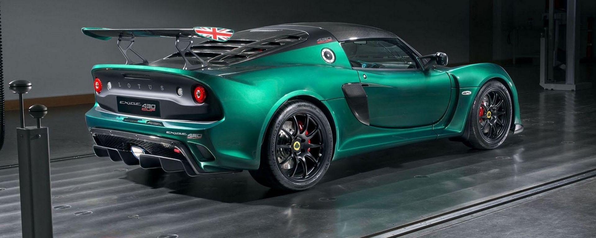 Lotus Exige Cup 430: pensata per la pista, pronta per la strada
