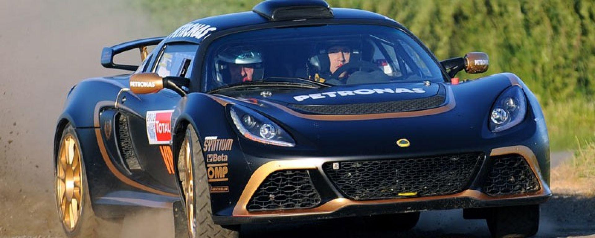 Lotus: la Exige R-GT debutta nei rally