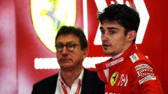 Louis Camilleri e Charles Leclerc (Ferrari)