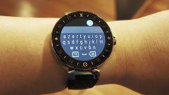 Louis Vuitton Tambour Horizon: la tastiera di Android Wear 2.0