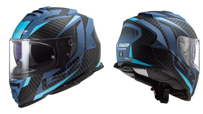 LS FF800 Storm Blu