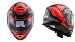 LS FF800 Storm Red Titanium