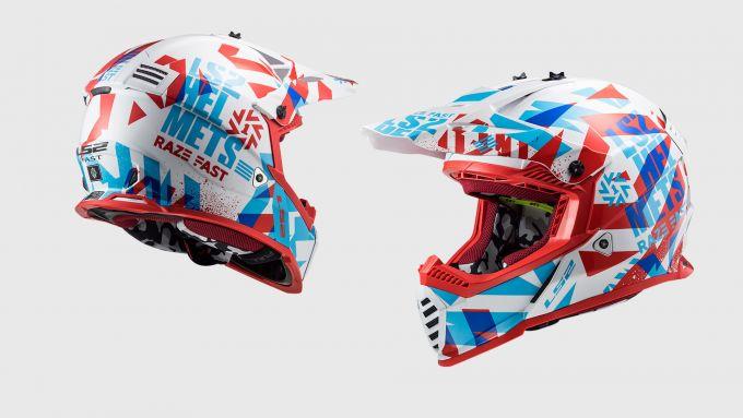 LS2 Fast Mini Evo: casco da cross per i più piccoli