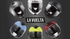 LS2 Strobe FF325 e Verso OF570: caschi ufficiali della corsa La Vuelta
