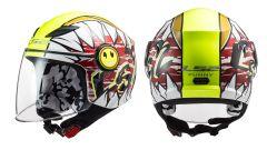 LS2 Helmets OF602 Funny Crunch White