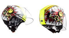 LS2 Helmets OF602 Funny Crunch Yellow