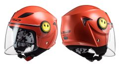 LS2 Helmets OF602 Solid Red