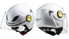 LS2 Helmets OF602 Solid White
