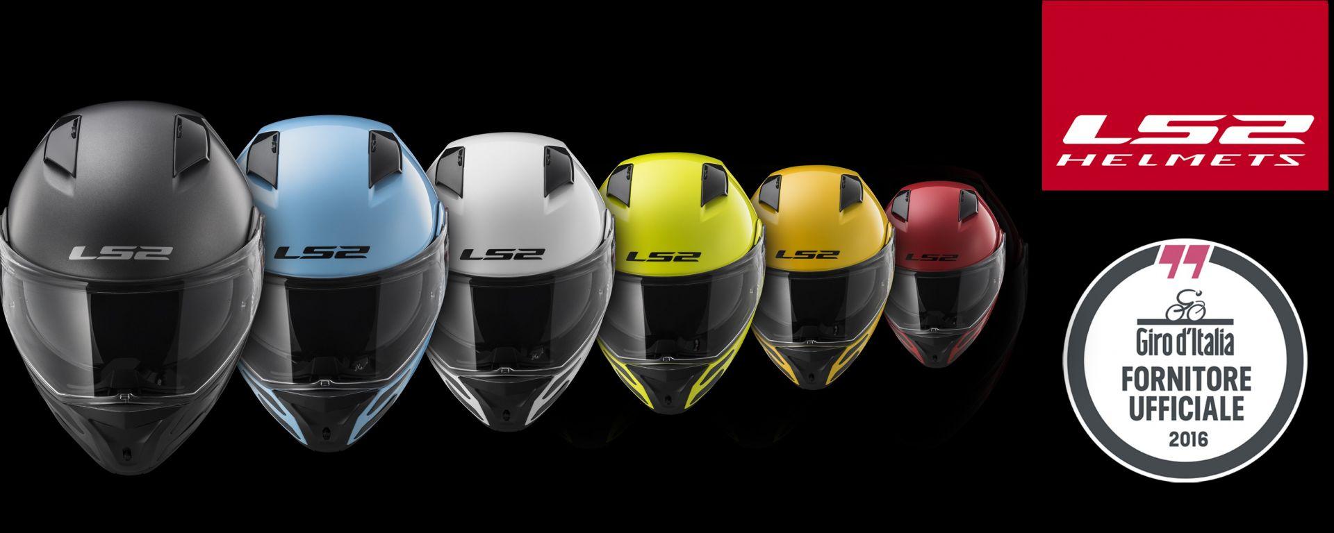 LS2: il METRO è il casco ufficiale del 99° Giro d'Italia