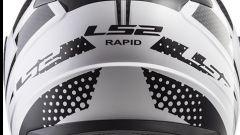 LS2 Rapid FF353, vista posteriore