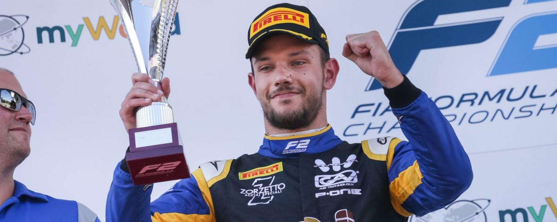 Luca Ghiotto, l'Italia della F2 che sorride al Red Bull Ring