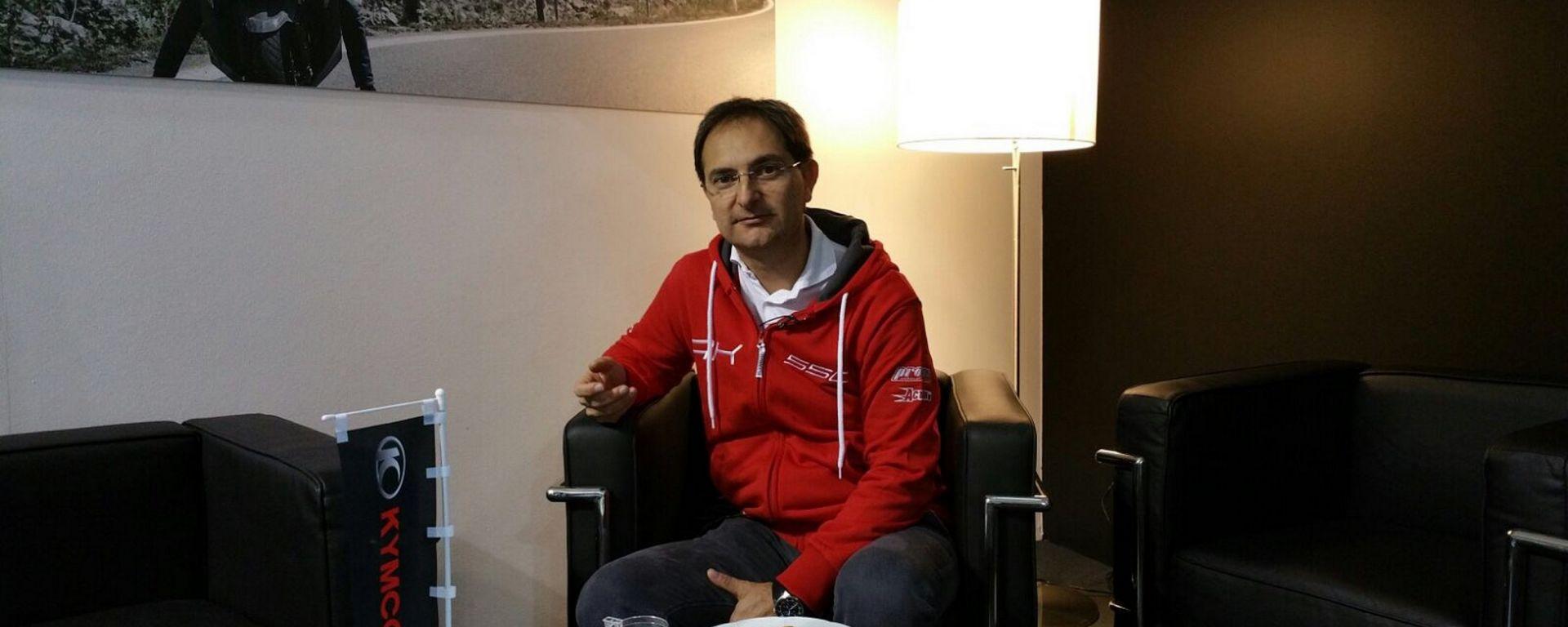 Luca Paletti, Direttore Ufficio Stampa Kymco Italia