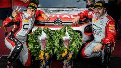 Luca Rossetti ed Eleonora Mori - podio Rally del Friuli Venezia Giulia 2019