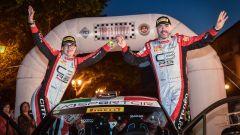 Luca Rossetti Eleonora Mori - Citroen C3 R5 podio Targa Florio 2019
