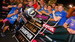 Lucas Mahias Campione del Mondo Supersport 2017
