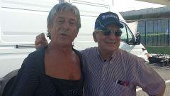 Lucchinelli e Gallina conquistarono insieme il titolo mondiale nel 1981, uno da pilota l'altro da manager